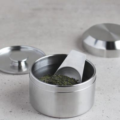 Boîte à thé en inox Leaves to Tea de Kinto - 250ml