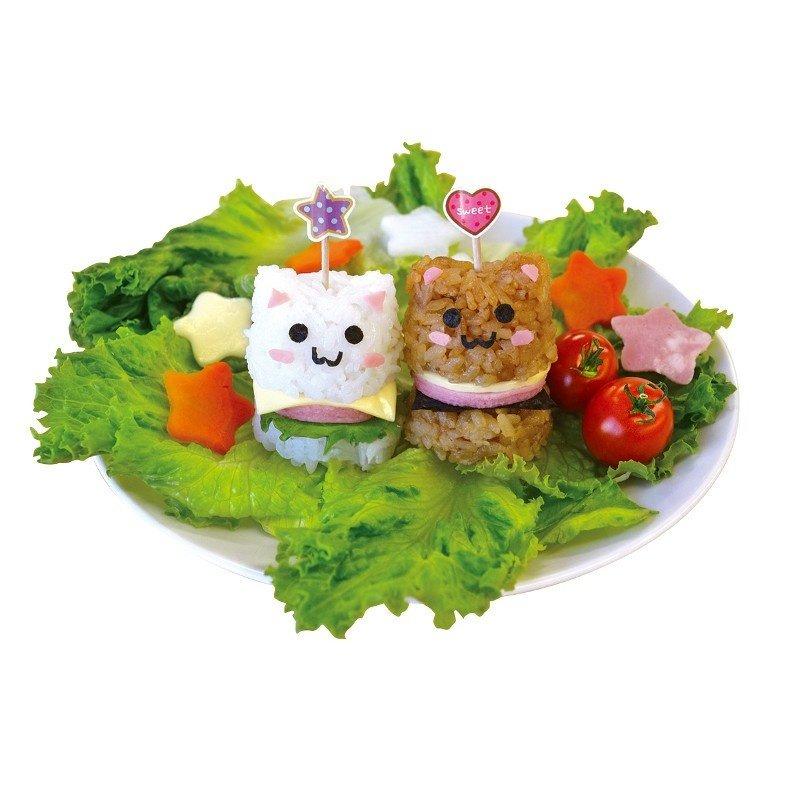 Kokubo Kokubo - Bento Art - Mini Rice Burger Maker