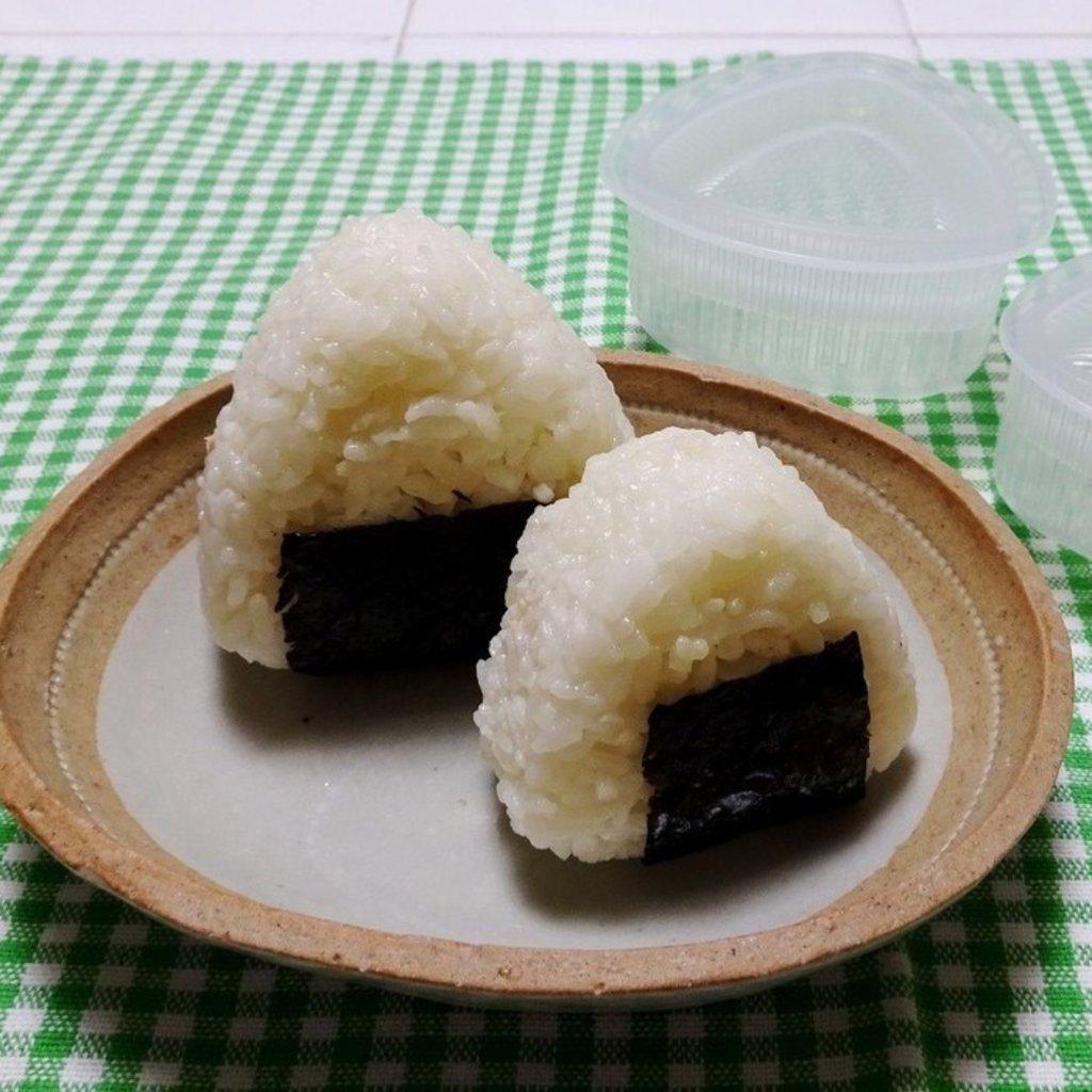 Kokubo Moules à onigiri – Paquet de 2
