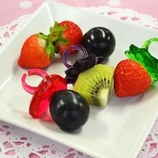 Kokubo Bague à diamant de fruits Delijoy