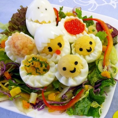 Kokubo Egg Bloomer Delijoy pour art bento