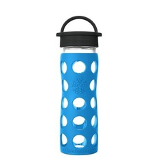 Lifefactory Drink - Lifefactory - Glass Water Bottle - Classic Cap - 475ml/16oz