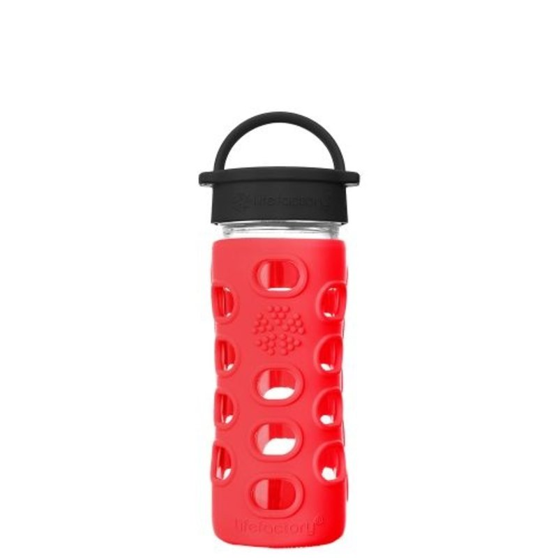 Lifefactory Drink - LifeFactory - Glass Water Bottle - Classic Cap - 355ml/12oz