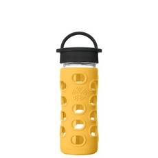 Lifefactory Drink - LifeFactory - Glass Water Bottle - Classic Cap - 355ml/12oz