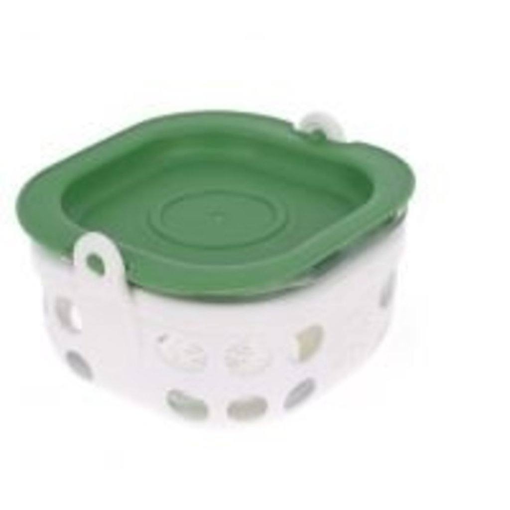 Lifefactory LifeFactory - Glass Food Storage with Silicone Sleeve - 1 cup
