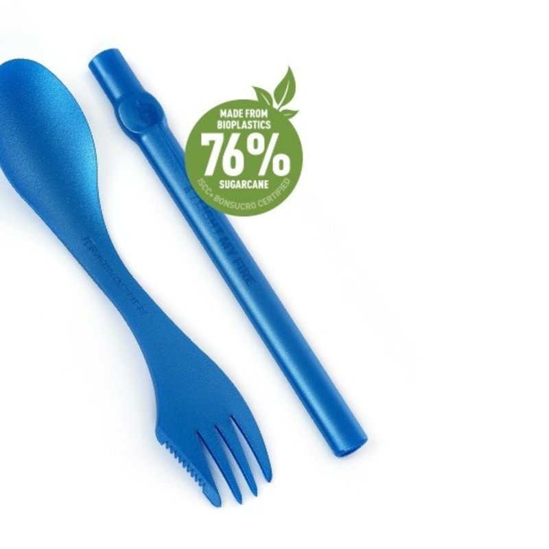 Light My Fire Duo spork et paille réutilisable Spork n' Straw de Light My Fire