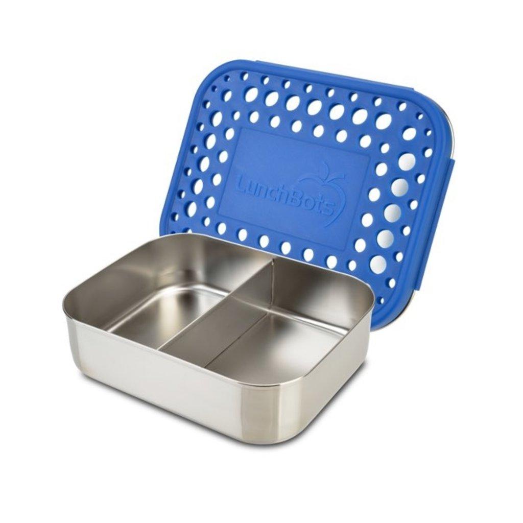 Lunchbots Boîte bento à 2 compartiments en inox Lunchbots - 600ml