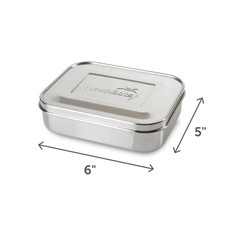 Lunchbots Lunchbots - Stainless Steel - Two Section - 2.5 cups / 600ml