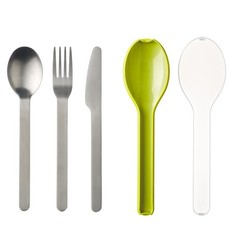 Mepal Mepal - Ellipse 3-Piece Stainless Cutlery Set