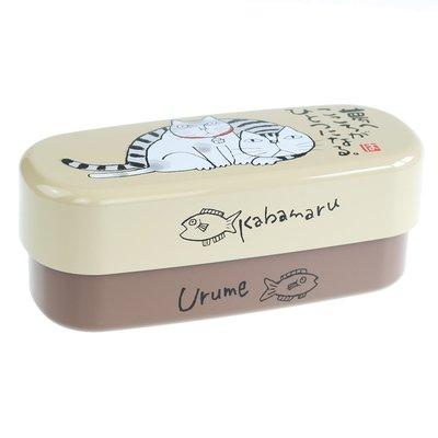Miyamoto Miyamoto - Okamoto Cat Bento Box - Kabamaru L