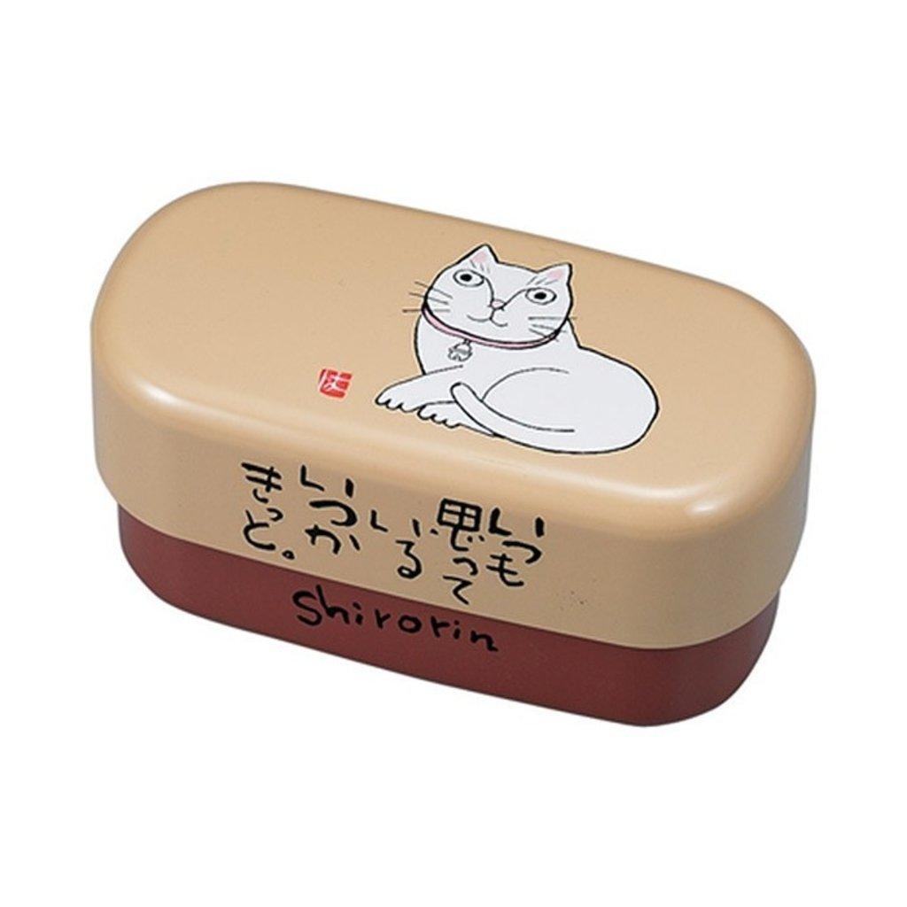 Miyamoto Miyamoto - Okamoto Cat Bento Box - Shirorin