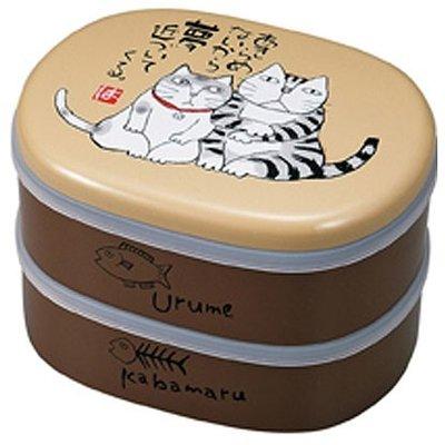 Miyamoto Boîte bento à pique-nique Urume Kabamaru Cats de MIYAMOTO