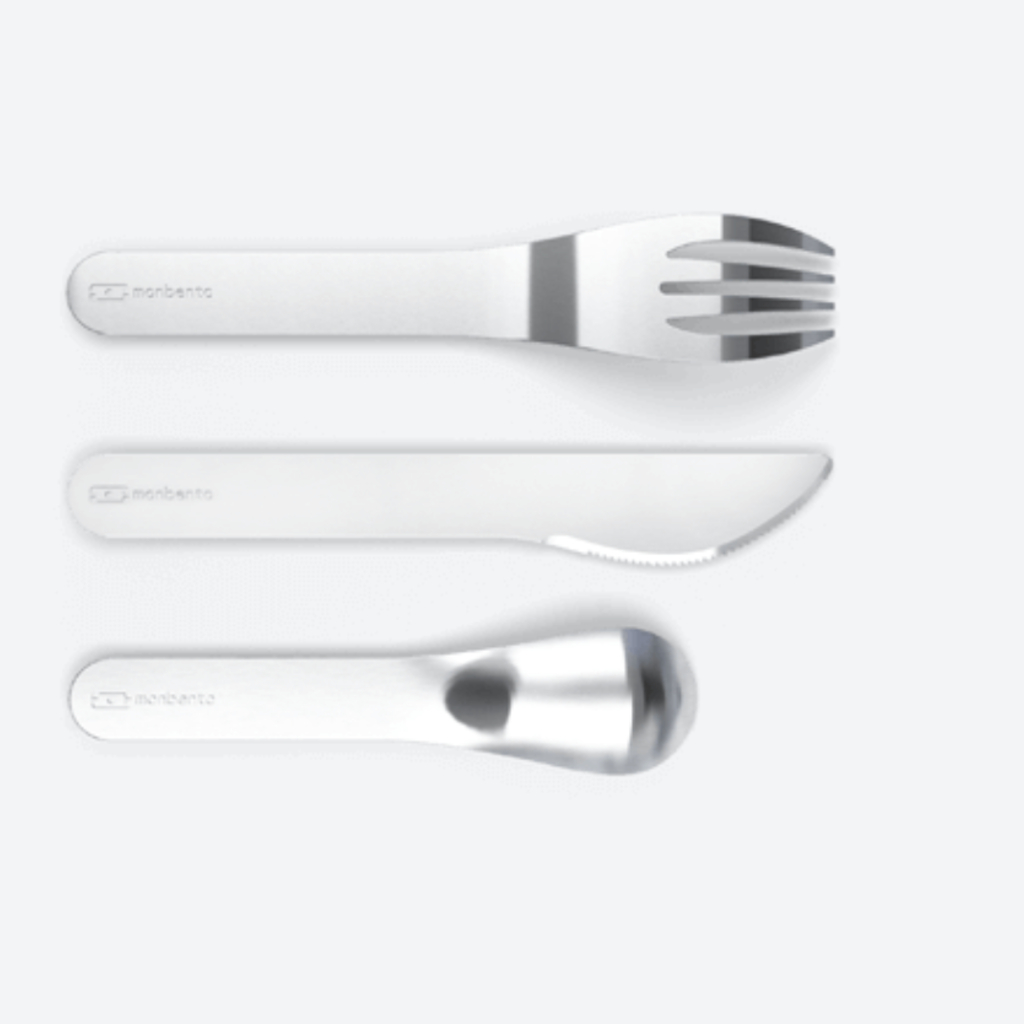 Monbento Monbento - Pocket Stainless Cutlery Set