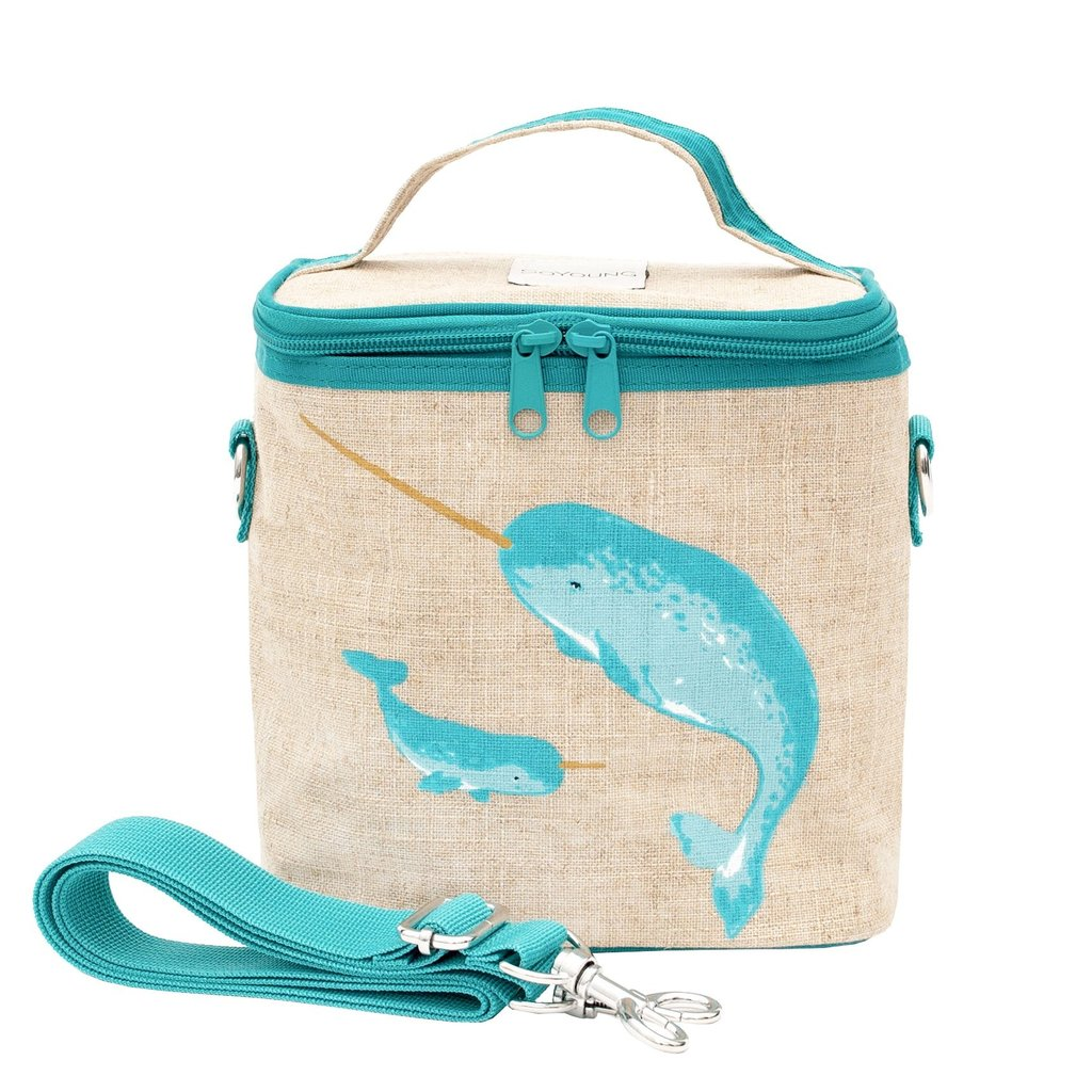 Soyoung Soyoung - Insulated Linen Small Cooler Bag