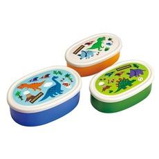 Skater Skater - Boîtes collation dinosaure - Ensemble de 3