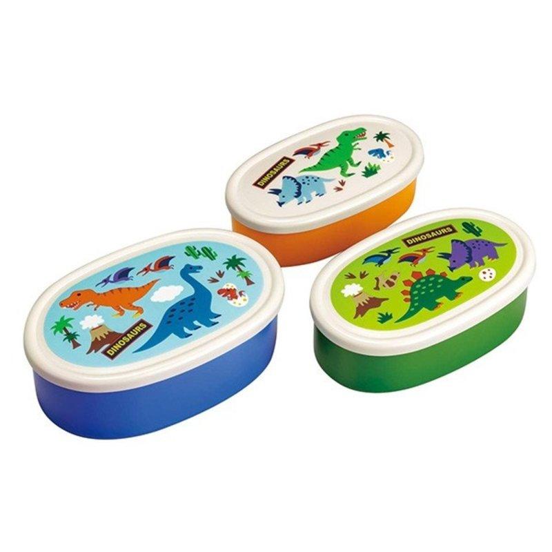 Skater Skater - Dinosaur Snack Box - Set of 3