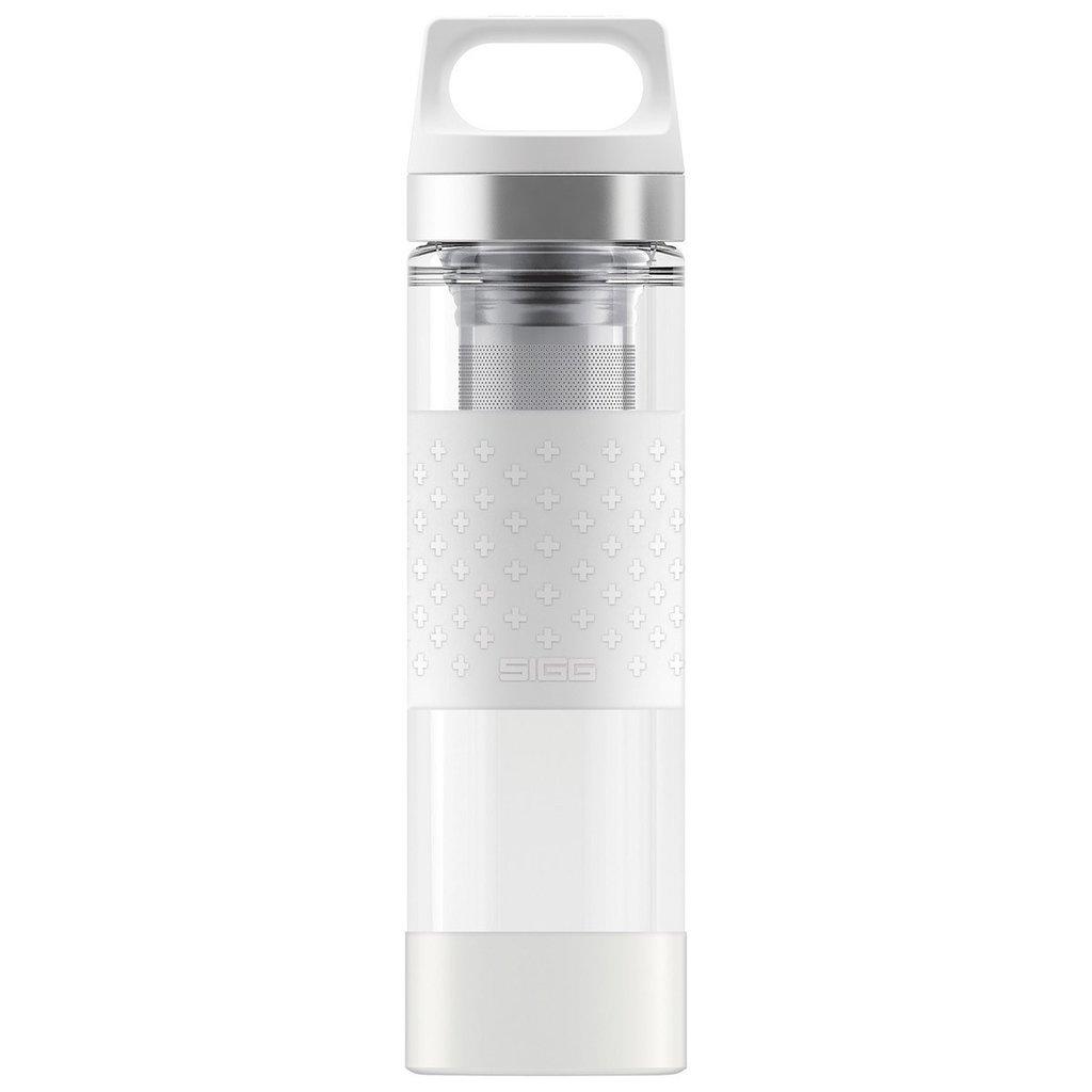 Sigg Drink - SIGG - Hot & Cold Glass WMB -Tea Filter - 400ml