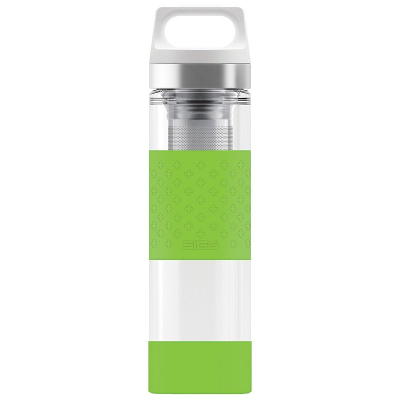 Sigg Drink - SIGG - Hot & Cold Glass WMB -Tea Filter - 400ml