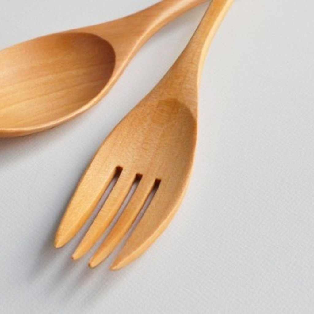 Showa Showa - Wood Cutlery Set - Life is Beautiful