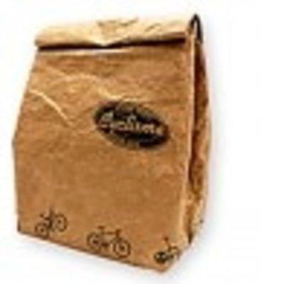 Prime Sac à lunch isotherme en papier Kraft - Format moyen