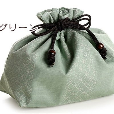 Sabu Sabu - Irogasane Oval Bento Box & Bag Set