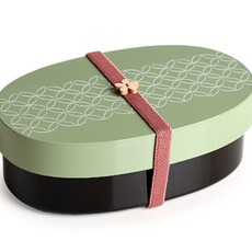 Sabu Sabu - Irogasane Oval Bento Box & Bag Set