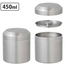 Kinto Kinto - LT - Stainless Steel Tea Canister - 450ml