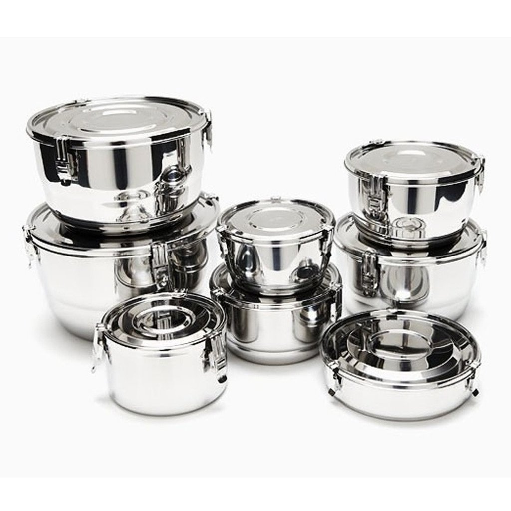 Onyx Onyx - Stainless Steel Airtight Container - 18cm