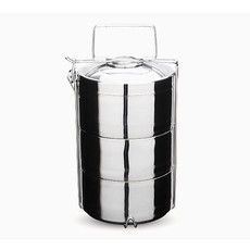 Onyx Onyx - Stainless Steel 3-Layer Tiffin Food Storage Container