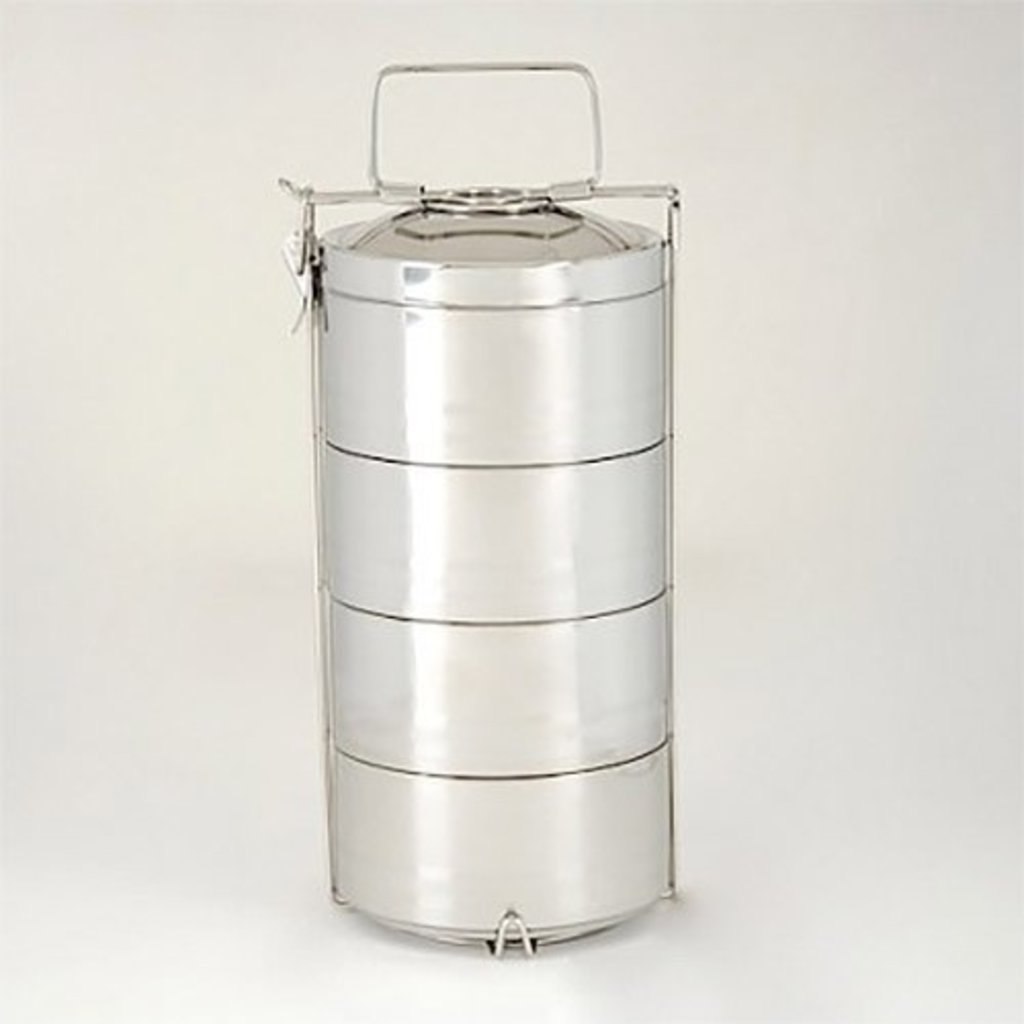Onyx Onyx - Stainless Steel 4-Layer Tiffin Food Storage Container