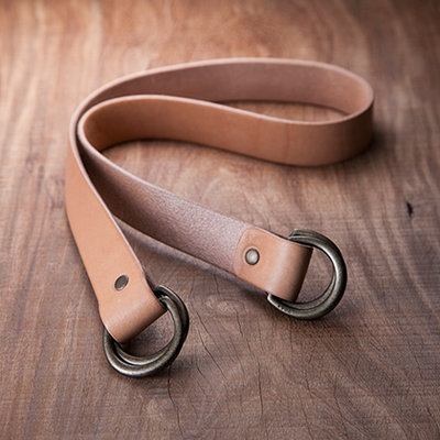 Uoak Furoshiki - Leather Messenger Strap