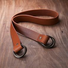 Uoak Furoshiki - Leather Messenger Strap