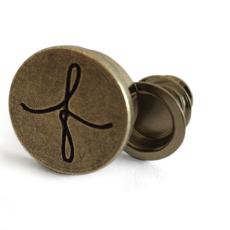 Uoak Furoshiki - Leather Handle - Large Round w/Clip