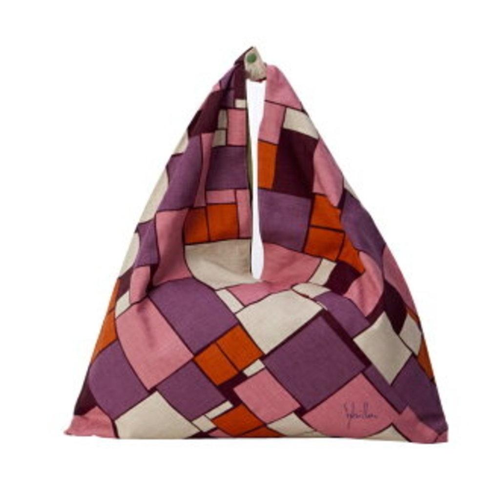 Musubi Sbilla -  Furoshiki style Triangle Tote Bag