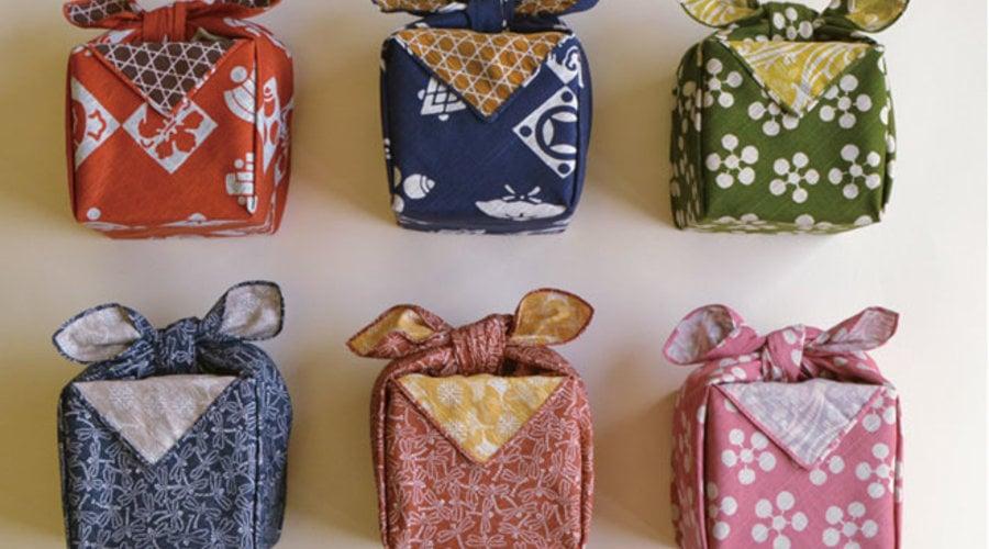 Quick & Easy Ways to Eco-Wrap with Furoshiki Fabric this Holiday Season