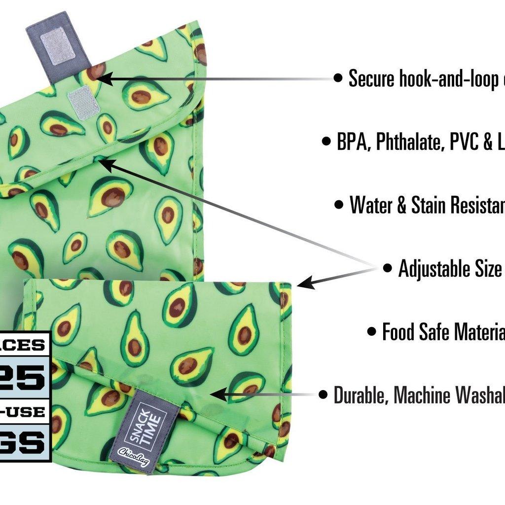ChicoBag Market Bag - ChicoBag - Snacktime Reusable Sandwich Set of 3