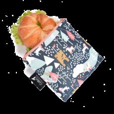 Colibri Colibri - Reusable Snack Bag - Large KIDS