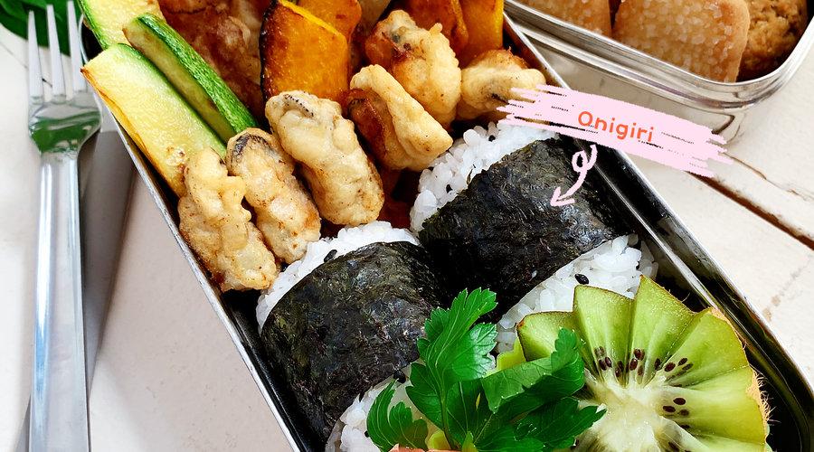 Recette de lunch Bento facile - Crevettes Tempura