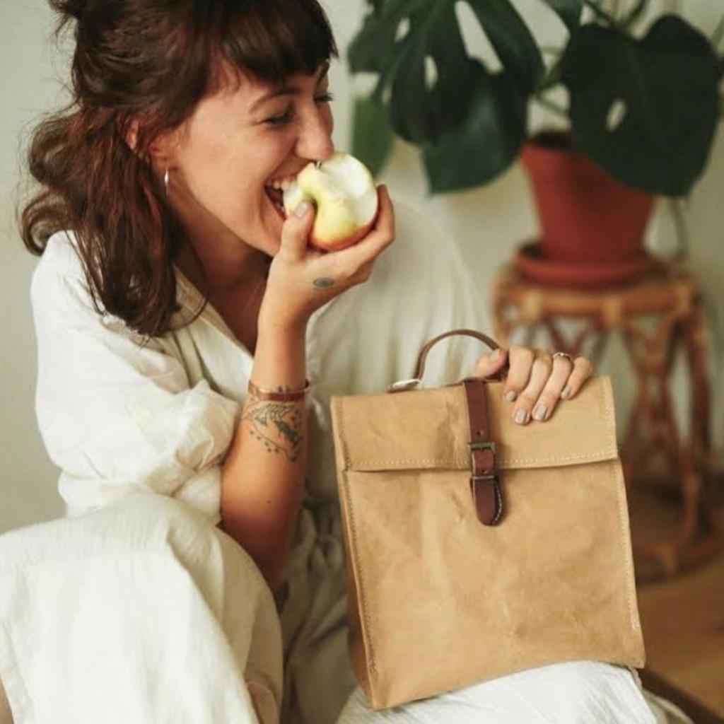 Uashmama Uashmama - Lunch Bag with Shoulder Strap