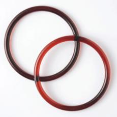 Poignée ronde à furoshiki en résine acrylique