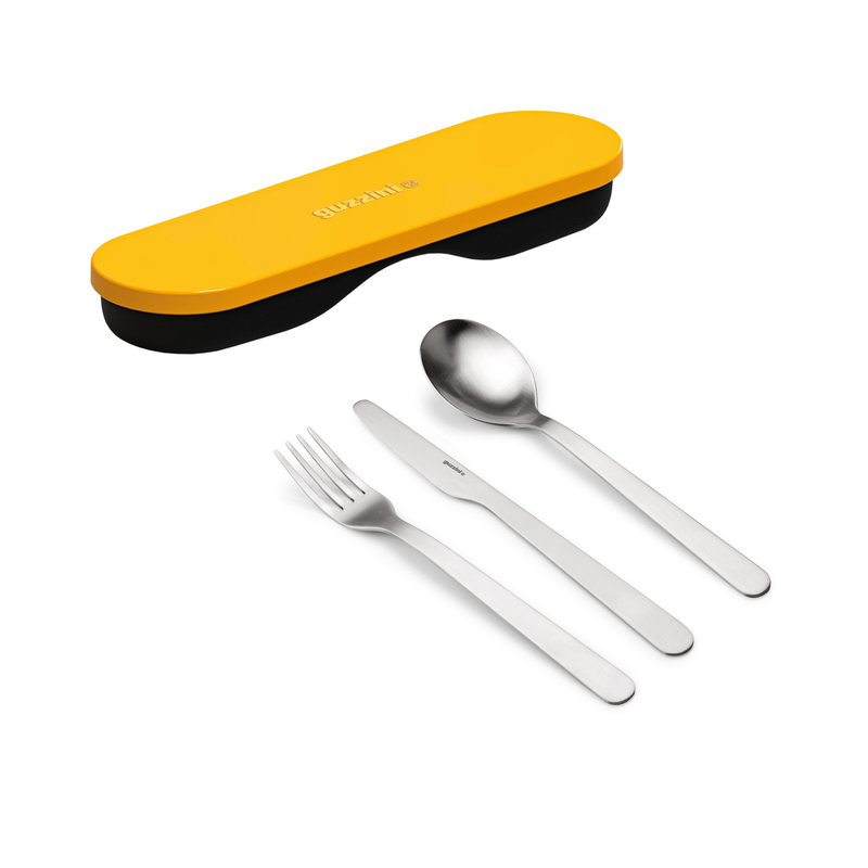 Guzzini Guzzini - Store & Go 3-Piece Stainless Cutlery Set
