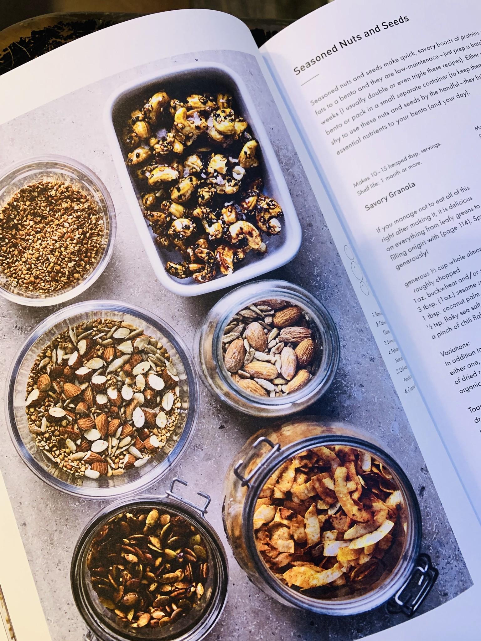Une recette saine et délicieuse de mélange de noix et de graines assaisonnées