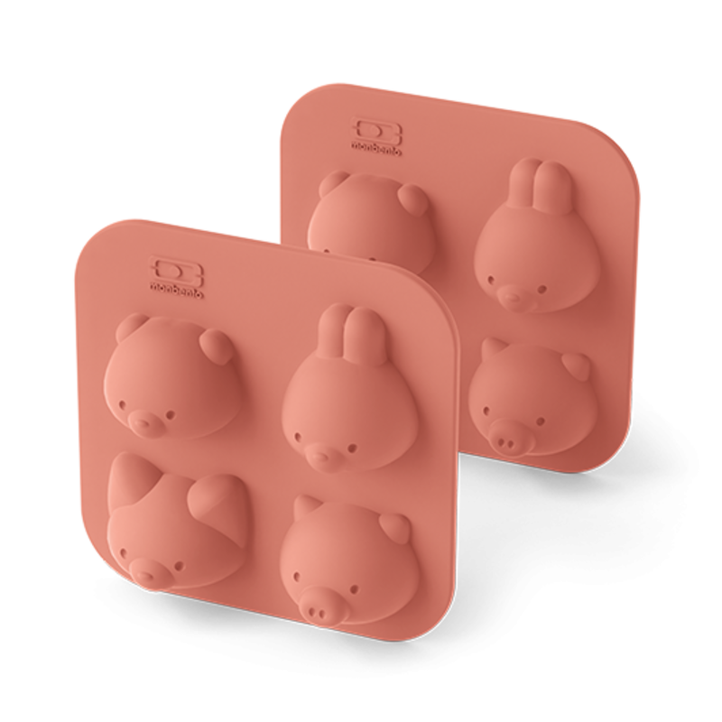 Monbento Monbento Silifriends Animals Cake Mold