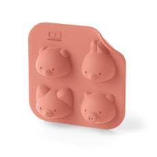 Monbento Monbento Silifriends Animals Cake Mold
