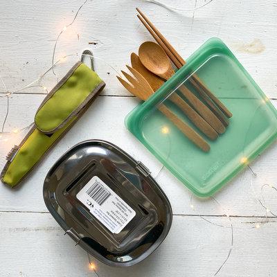 $50 - Ensemble de Lunch Sans Plastique  - 15% de rabais