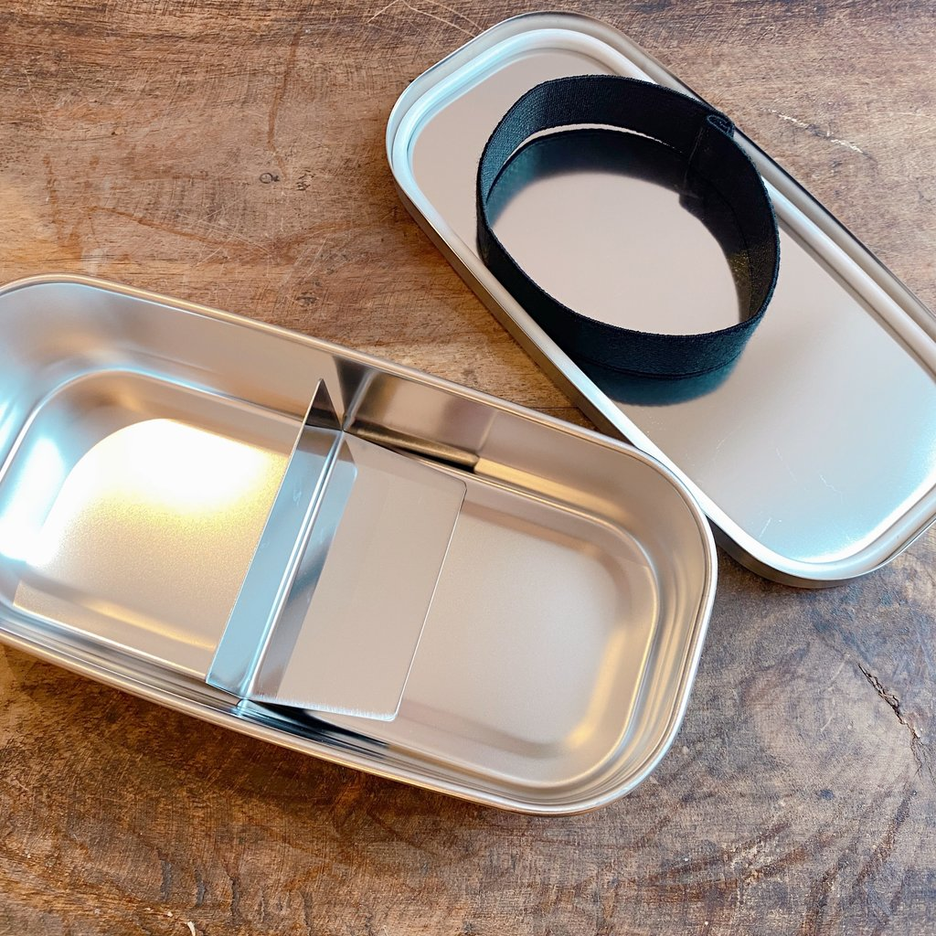 A - Stainless Steel Bento Box - 500ml Rectangular