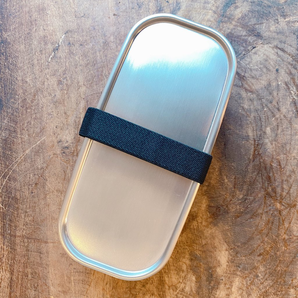 A - Boîte à Bento Inox - 500ml Rectangle