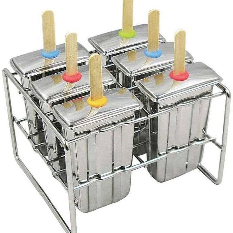Onyx Onyx - Stainless Ice Pop Mold - Square