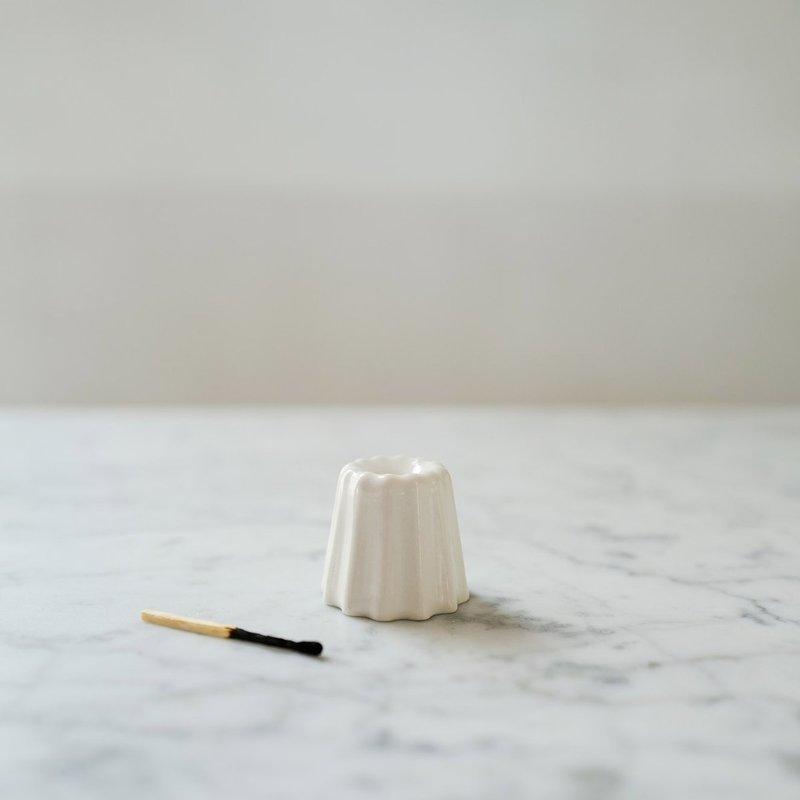 OVO Things OVO Things - Canele Porcelain Candle Holder