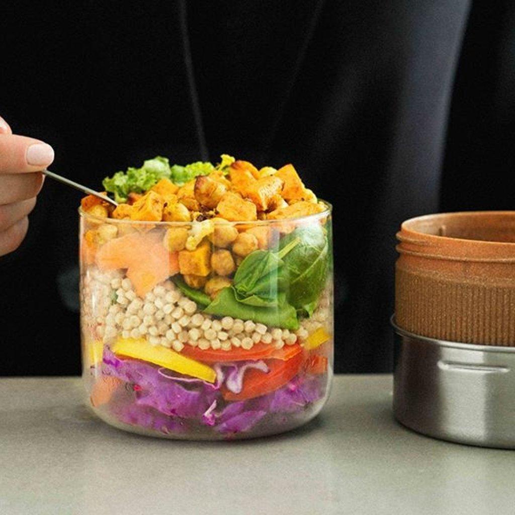 Black & Blum Black & Blum - Glass Lunch Pot - 600ml